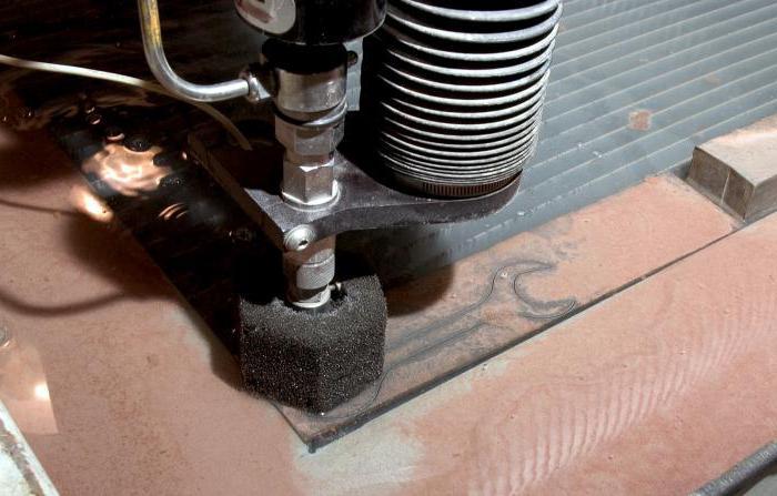 станок для резки металла водой