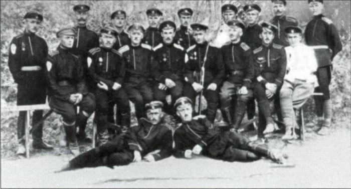 участники гражданской войны белые