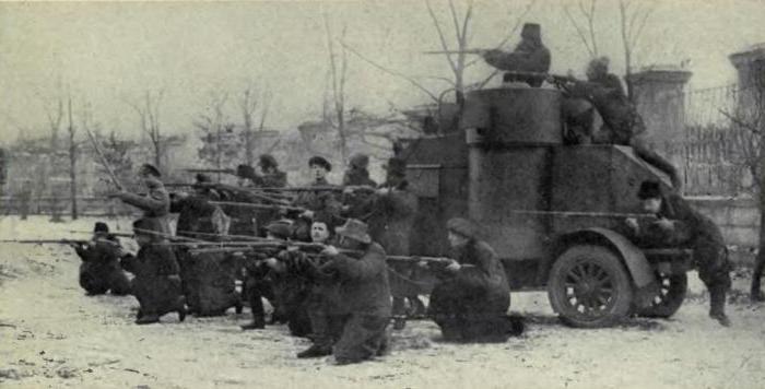 участники гражданской войны 1917