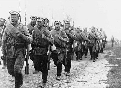 участники гражданской войны в россии