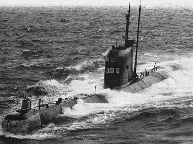дизельная подводная лодка 641 проекта
