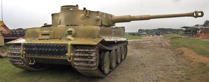 технические характеристики танка тигр немецкого