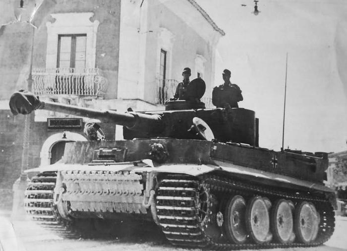 немецкий танк тигр модель