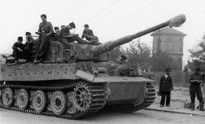 немецкий танк тигр фото