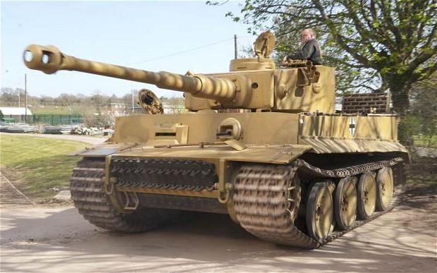 как советское оружие пробивало немецкий танк тигр