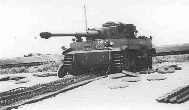 немецкие танки тигр