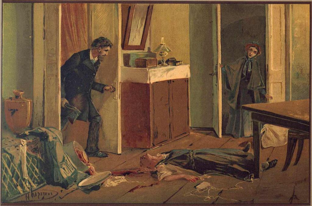Raskolnikov kills the old woman-interest