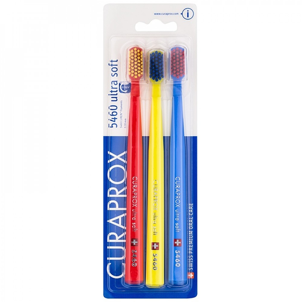 Toothbrushes curaprox 5460 ultra soft