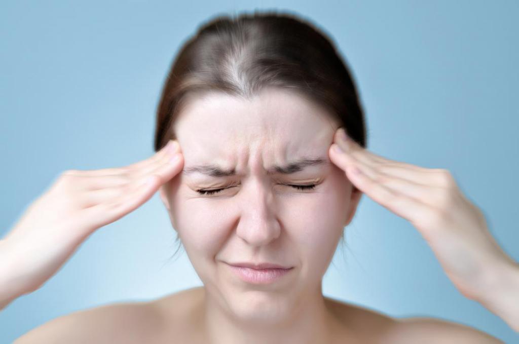 Сильная мигрень