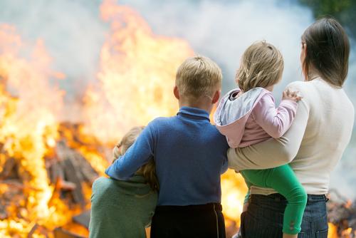 Стадии пожара: классификация, основы и основные зоны