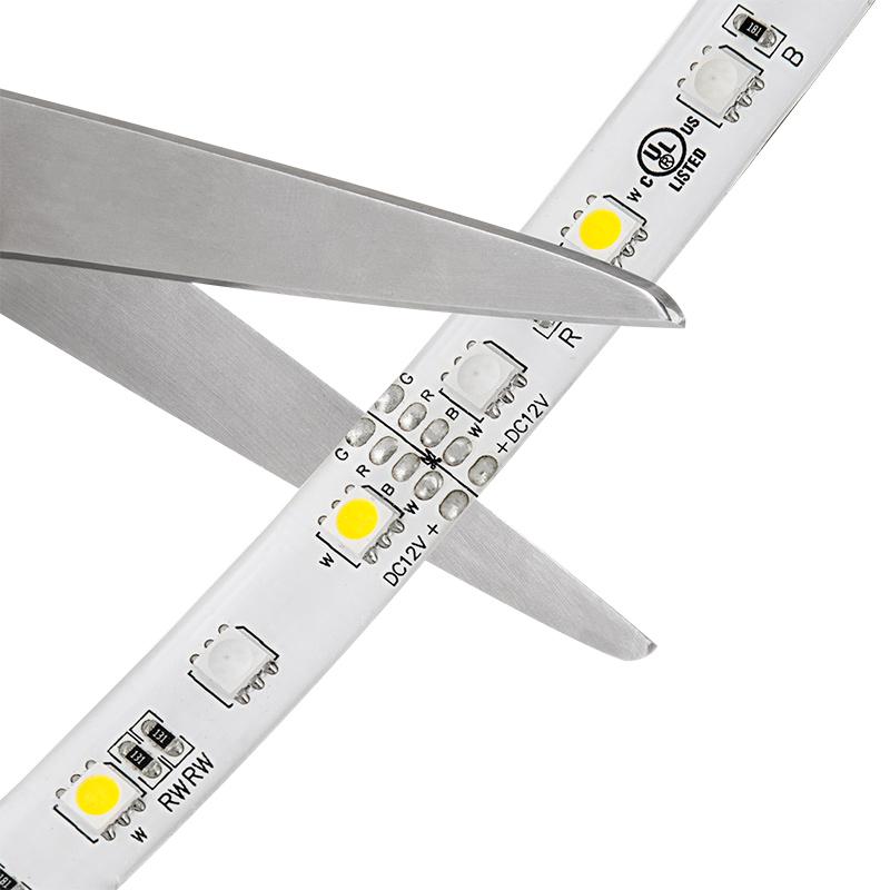 LED ribbon cutting