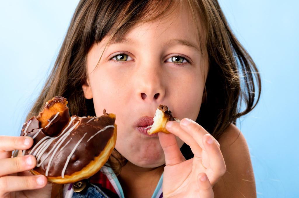 Запрещеная еда для ребенка