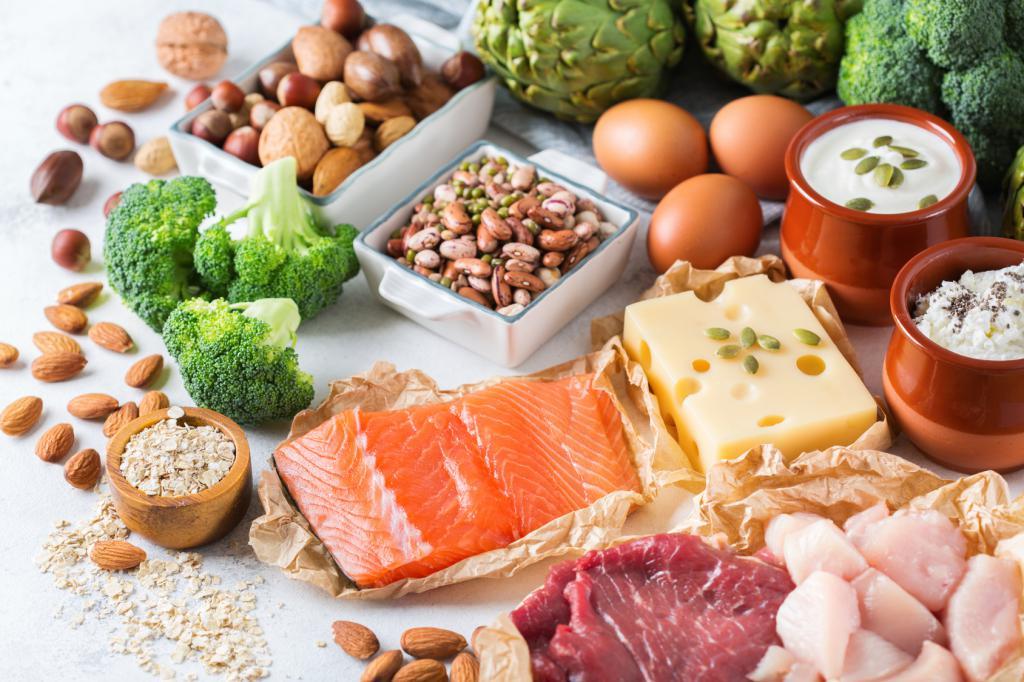 Белковая Диета Какие Продукты. Меню для похудения на белковой диете. Список белковых продуктов
