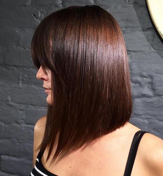 Виды каре с удлинением волос спереди