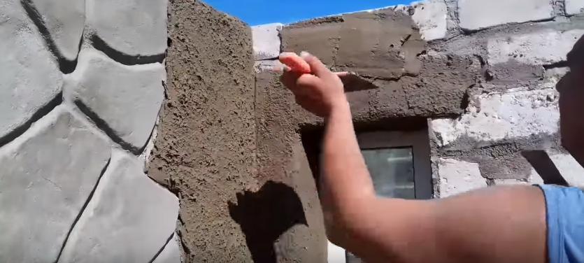штукатурка под камень