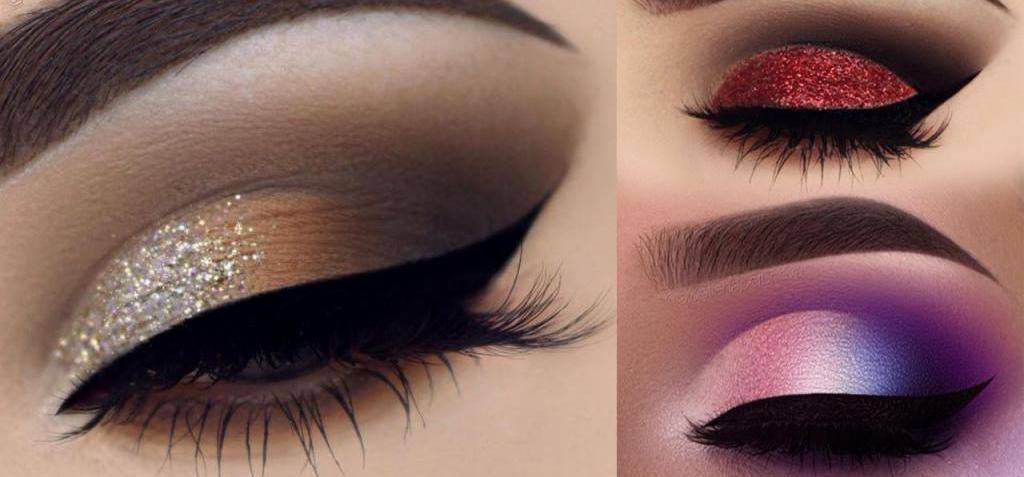 картинки макияж глаз простые что