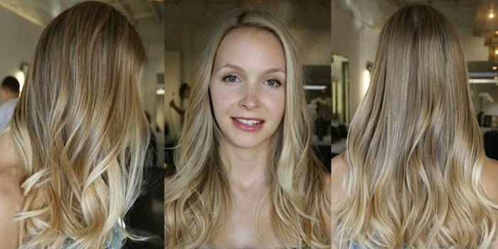 Мелирование блондинок: техника окрашивания, советы по выбору оттенка, фото