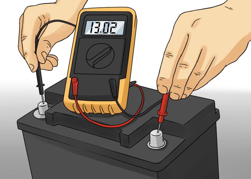 Замер емкости аккумулятора