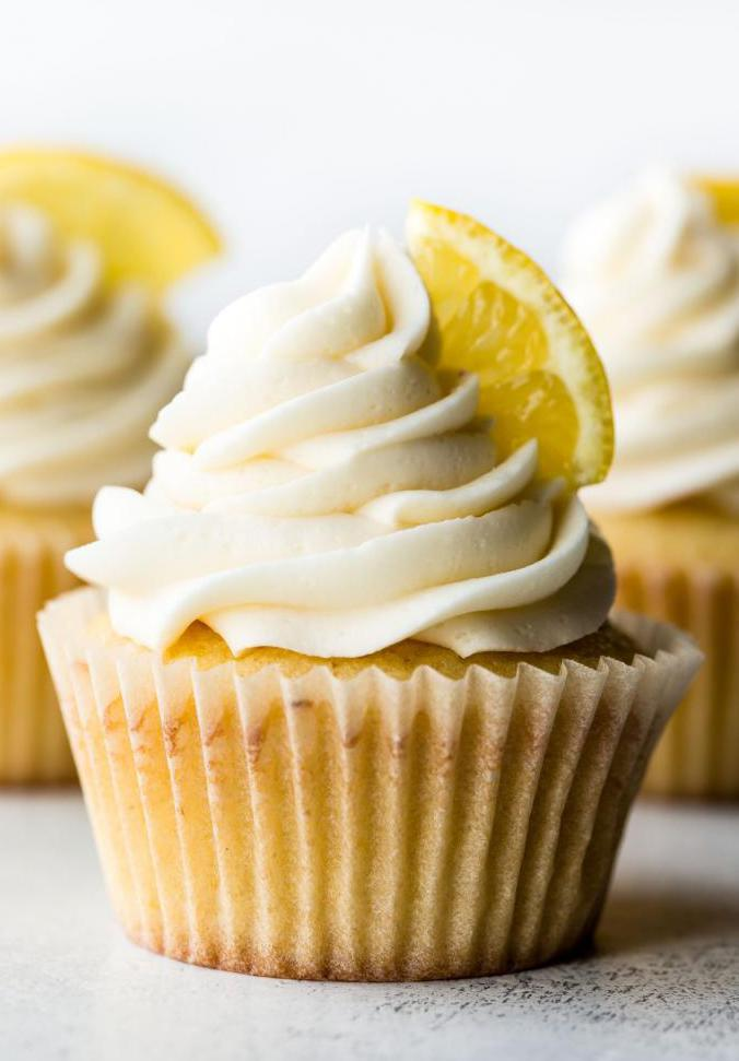 Лимонный маффин