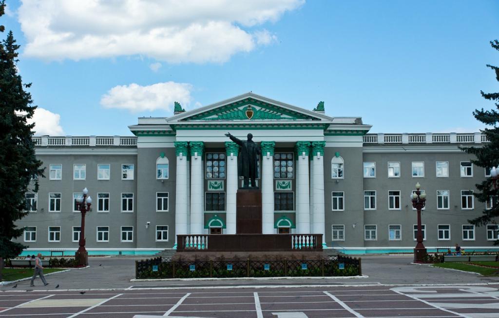Дворец культуры в Ступино