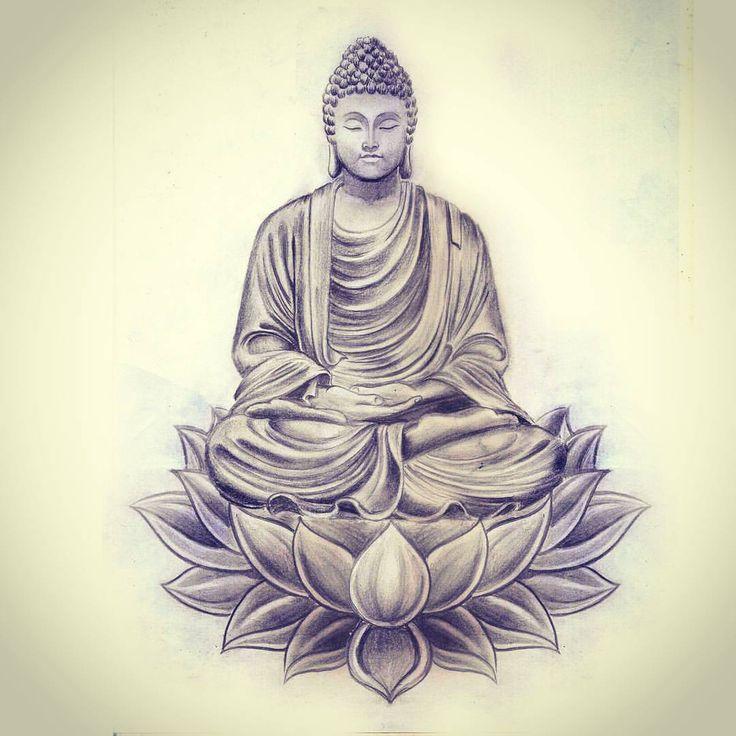 Тату Будда: история, значение и эскизы
