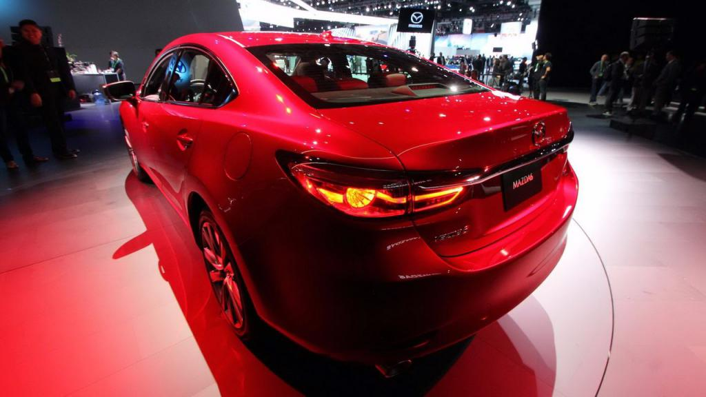 Корма Mazda 6