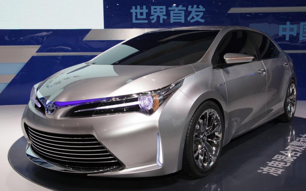 Концепт новой Corolla
