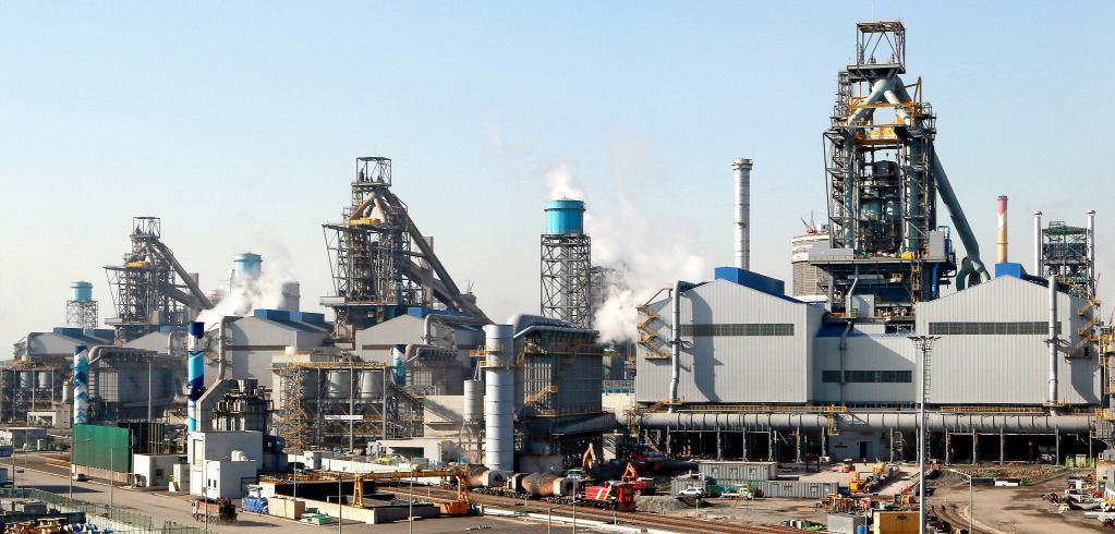 Завод по производству металла в Корее