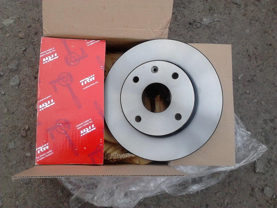 Тормозной диск TRW