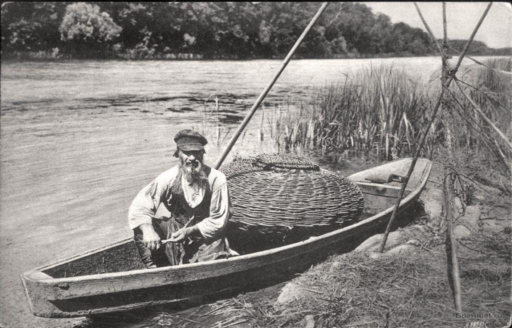 Лодки крестьян