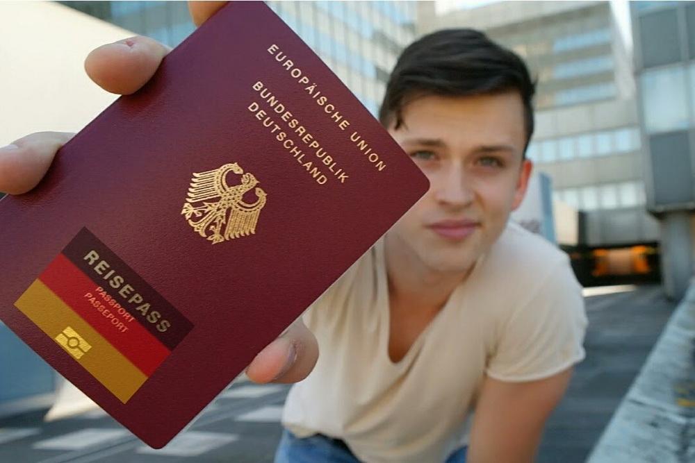 Сочетание гражданства Германии и  России