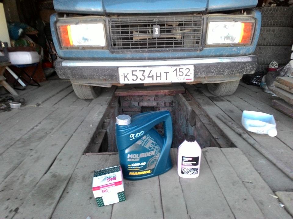 Oil for VAZ 2107