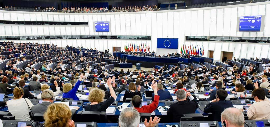 заседание ЕС с голосованием