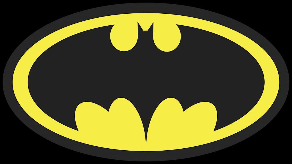 Batman logo.
