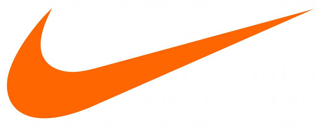 Nike company logo.