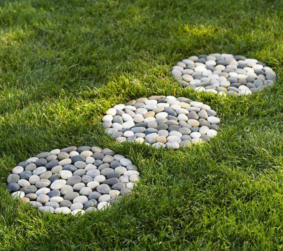 Stones for decoration.