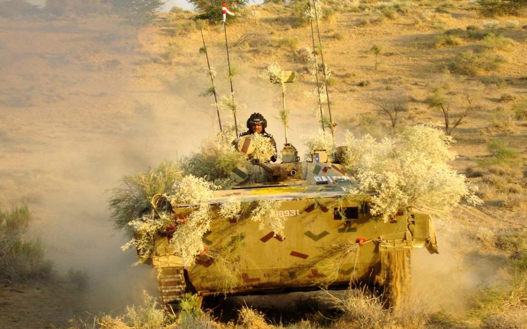 Танк индийской армии.