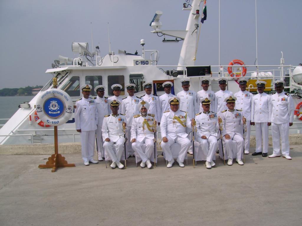 Береговая охрана Индии.