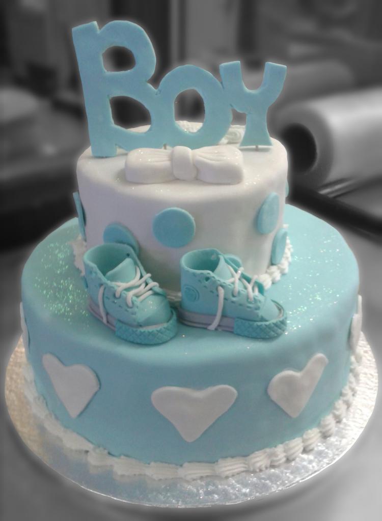 торт на 6 месяцев мальчику без мастики