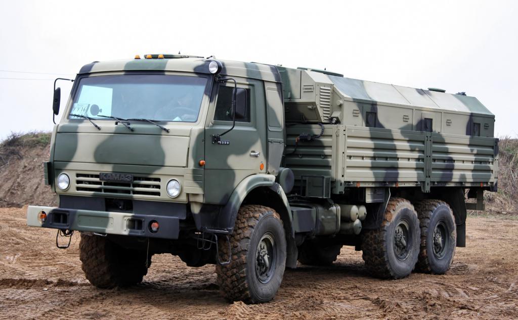 Kamaz 5350 medium truck