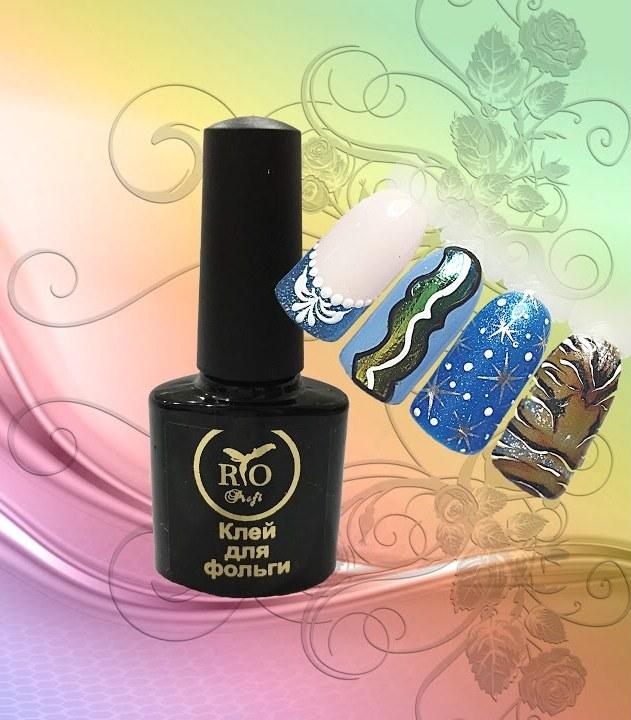Клей для фольги для ногтей: свойства и бренды