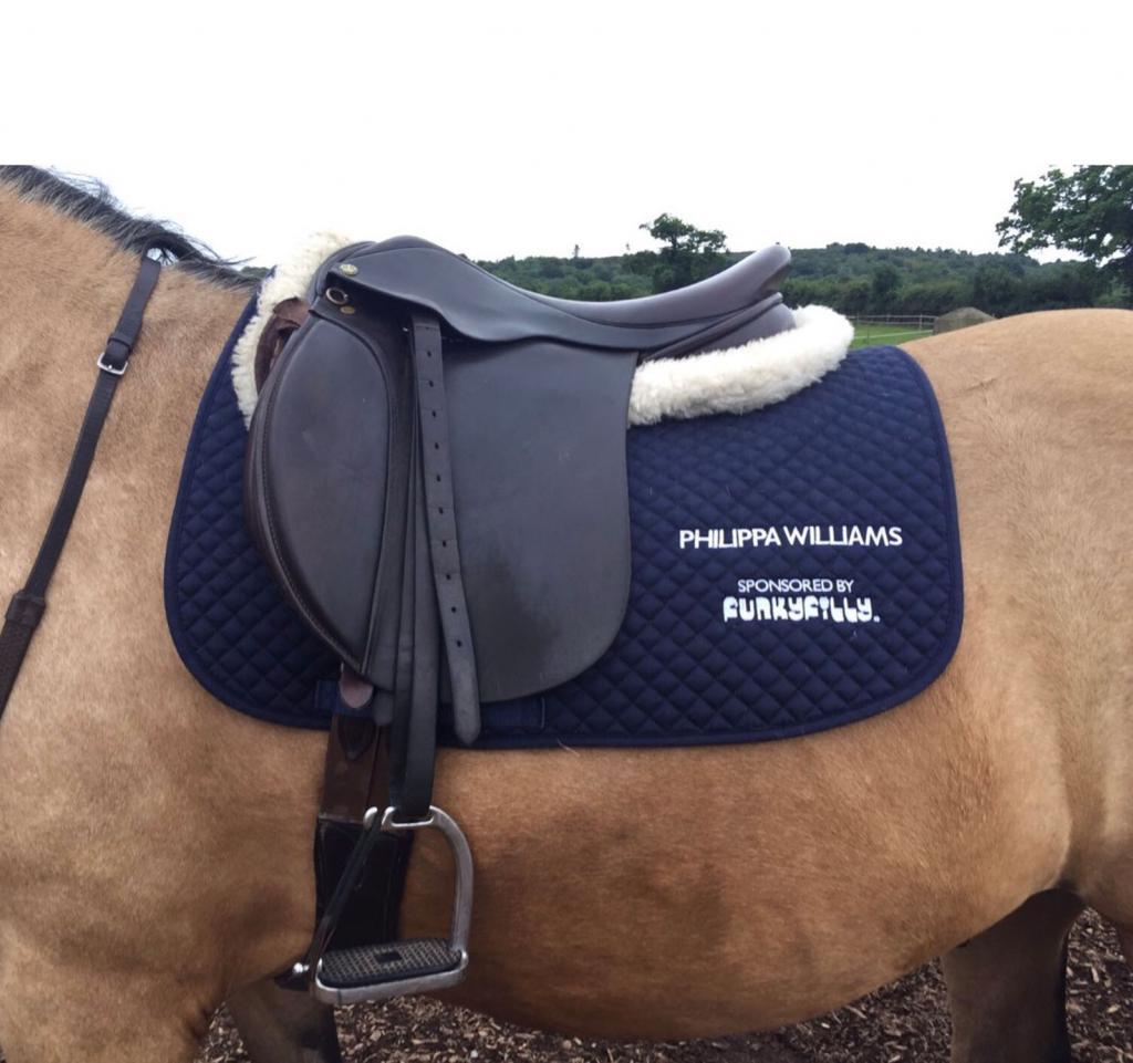 вальтрап на лошади
