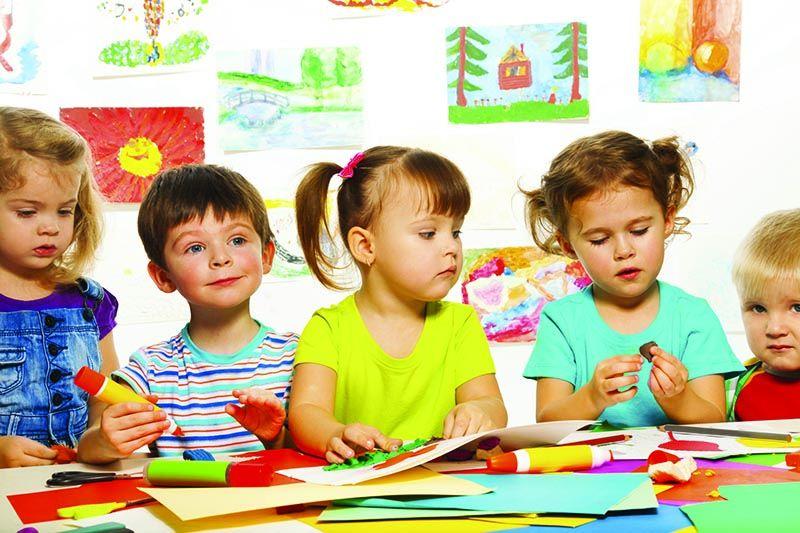 younger group of kindergarten