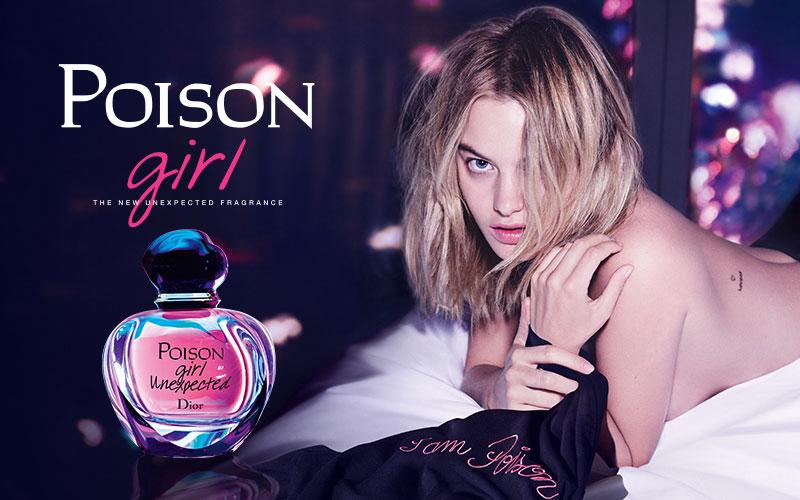 Poison Perfume Advertising