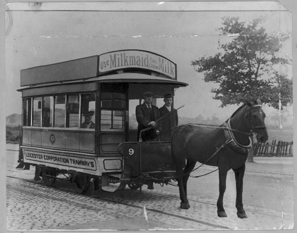 Устройство трамвая на лошадиной тяге