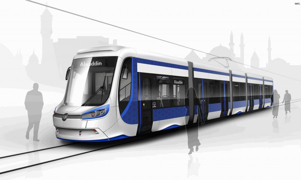 Токоприемник трамвая и линии сети