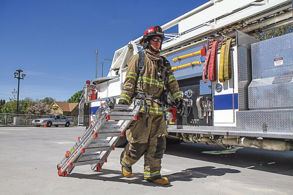 Классификация, назначение и устройство ручных пожарных лестниц