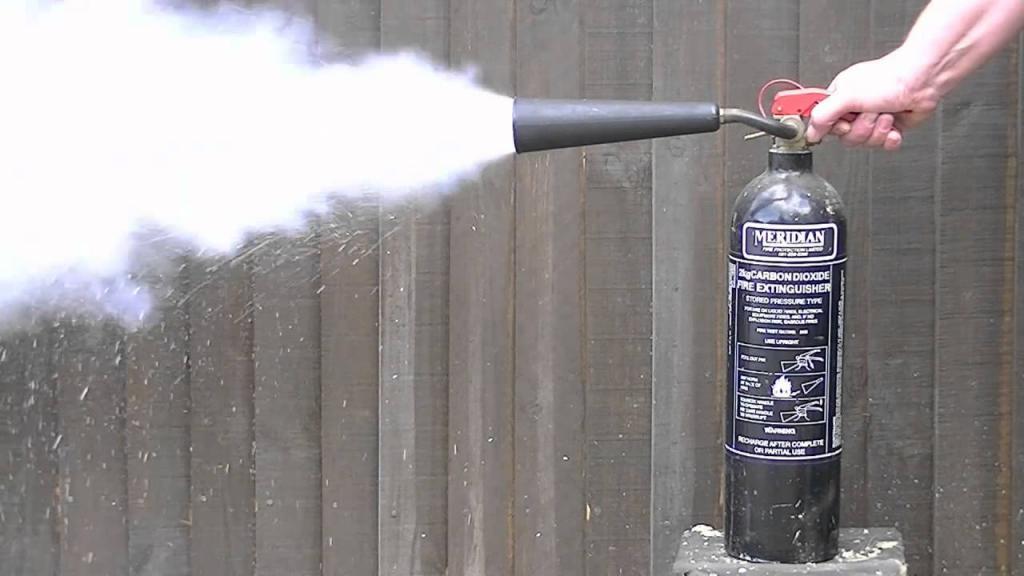 Огнетушитель углекислотный: инструкция по эксплуатации