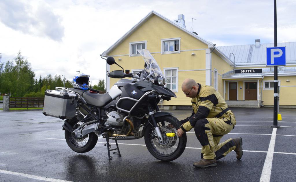 Подножка для мотоцикла