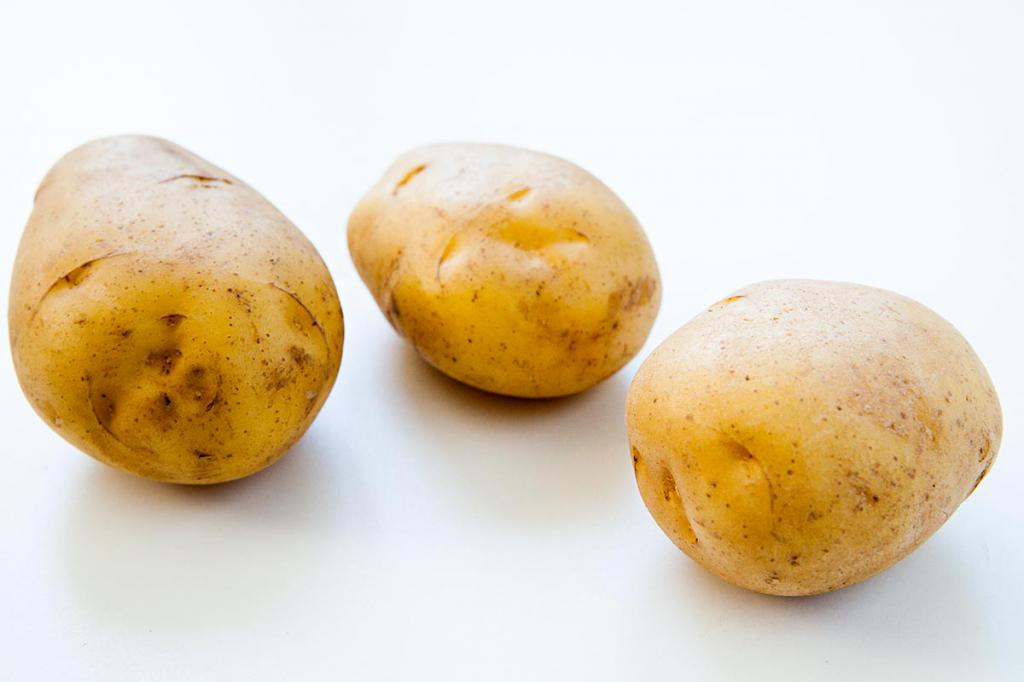 Три картофелины